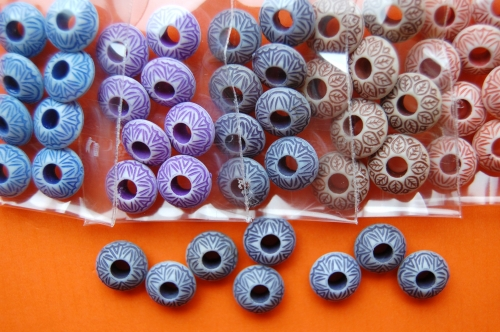 Korálky ozdobné 7740 vel.13mm balení 5g