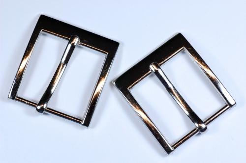 Spona kovová M59  šíře 3,5cm nikl