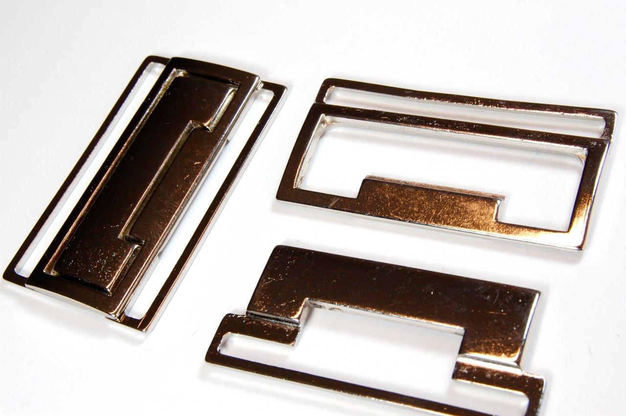 Spona kovová M172 šíře 5cm nikl