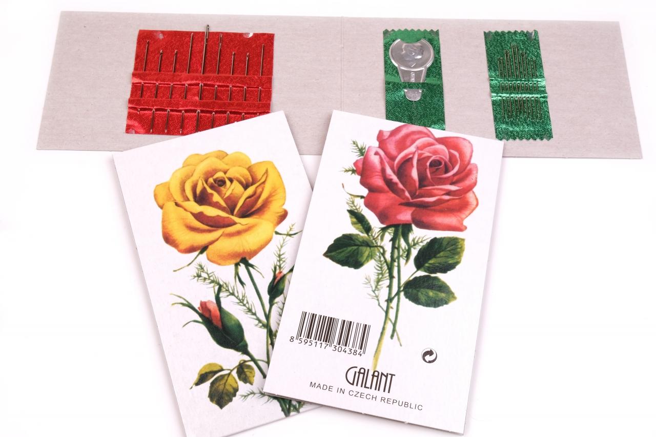 Jehly mapky Růže