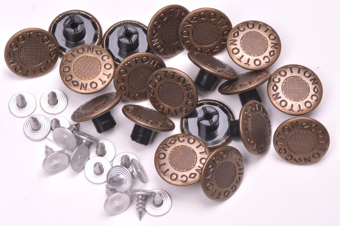 Knoflík Jeans 0857 vel. 26 - 16,5mm