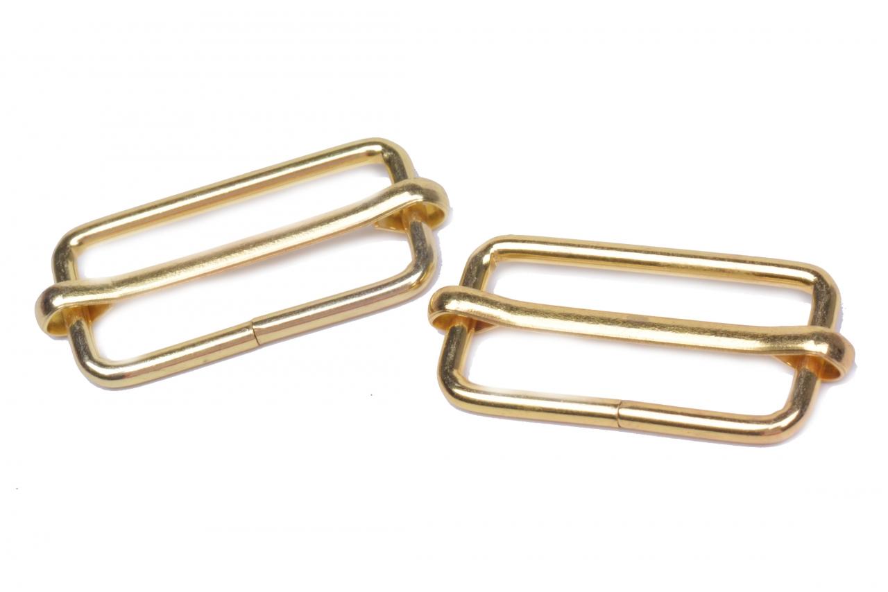 Posunovač kovový vnitřní průvlek 30mm zlatý