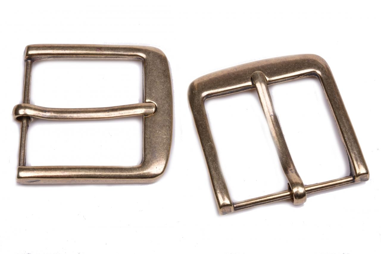 Spona kovová M55 šíře 4cm staromosaz