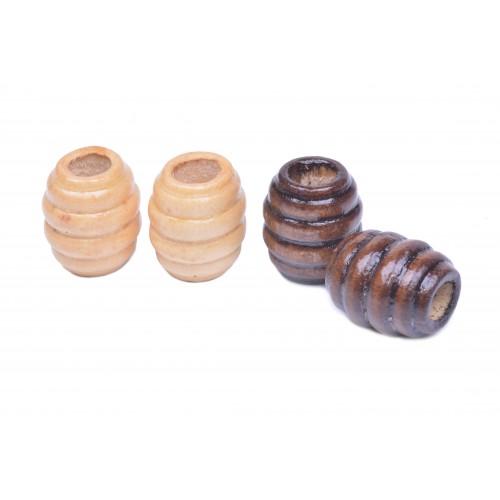 Korálky dřevěné vel. 17x15mm