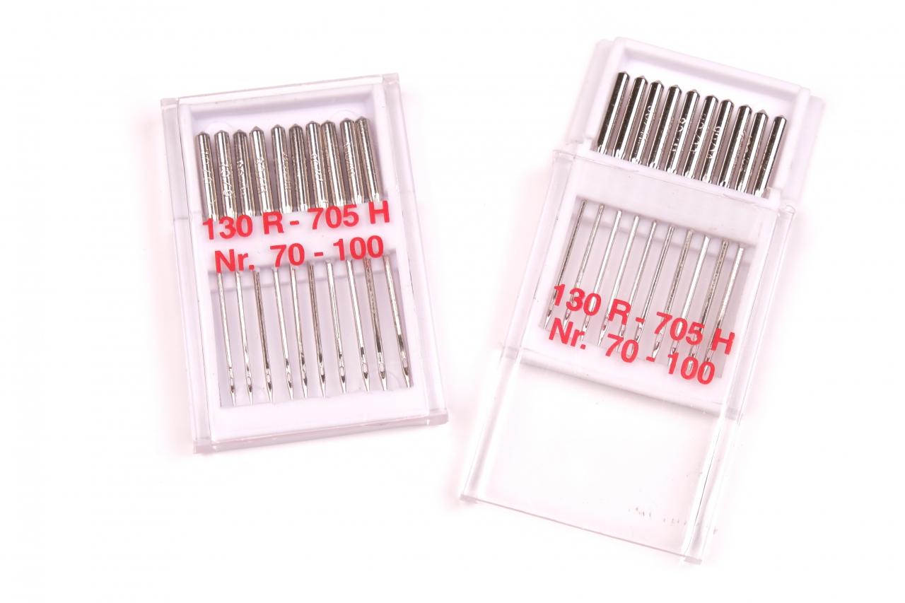 Strojové jehly STANDART 70-100 MIX 10j.
