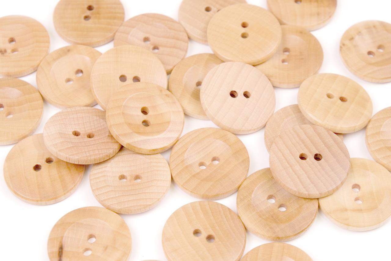 Knoflík dřevěný 2444 vel.44 - 27,9mm