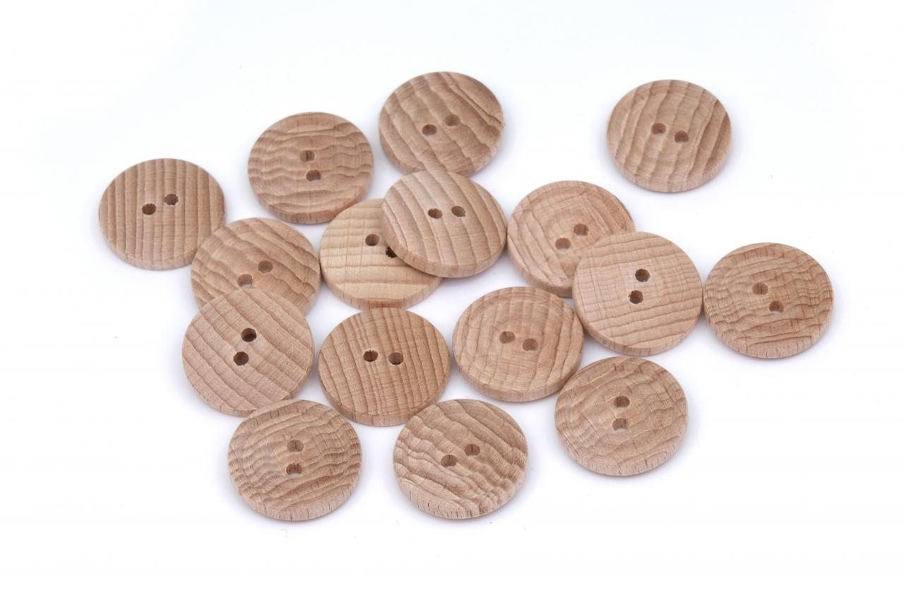 Knoflík dřevěný 1340 vel.40 - 25,4mm