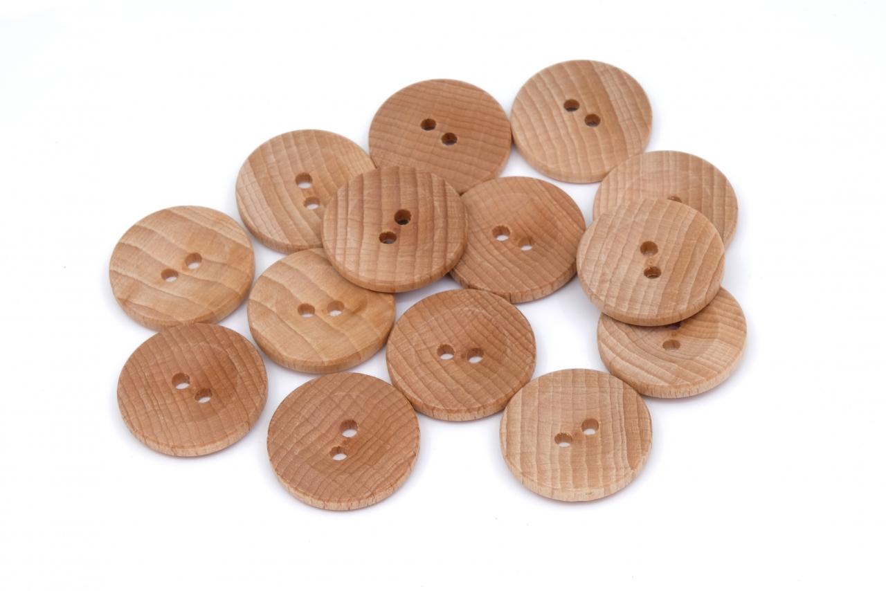 Knoflík dřevěný 2432 vel.32 - 20,3mm