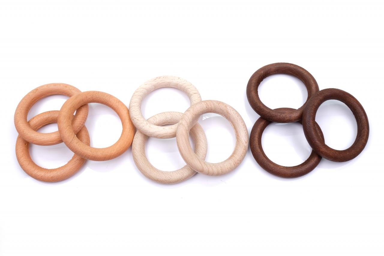 Kroužek dřevěný 40mm