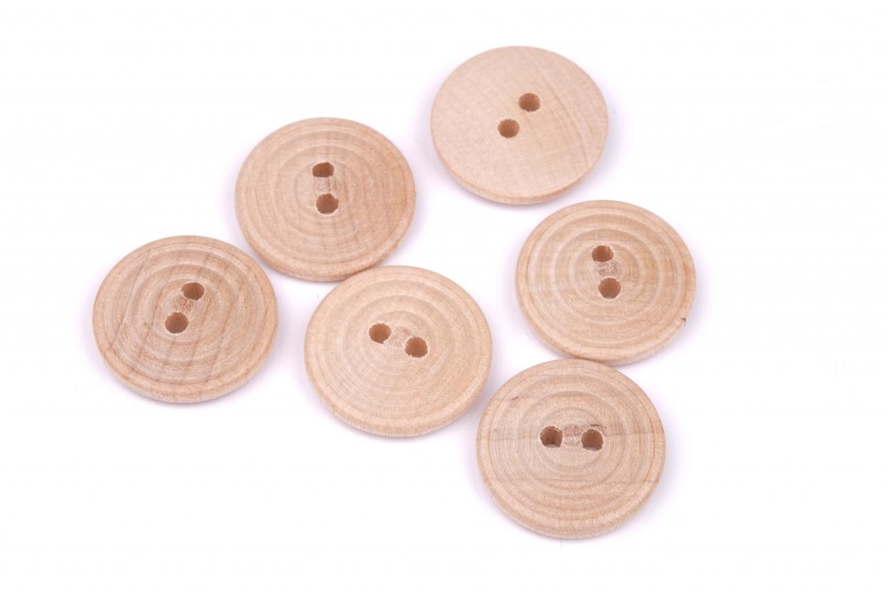 Knoflík dřevěný 13023 vel.36 - 22,9mm