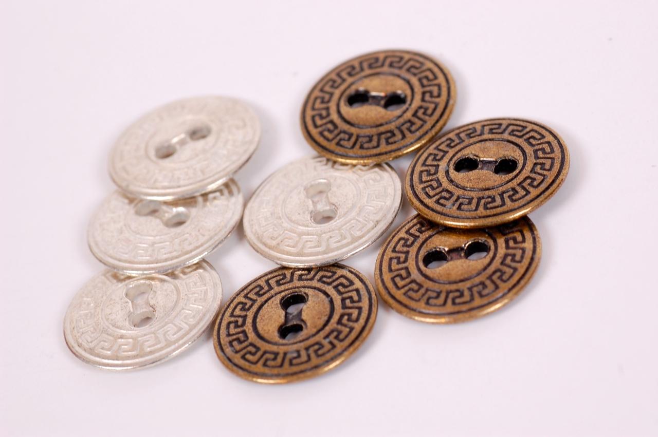Knoflík kovový 023 vel.32 -Ø20,3mm